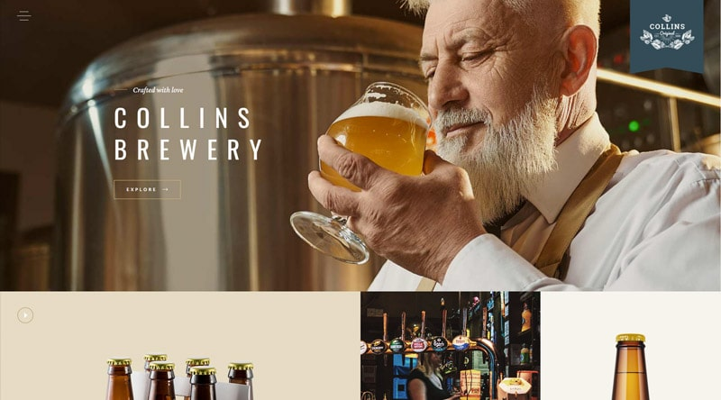 SingleMalt beer WordPress Theme