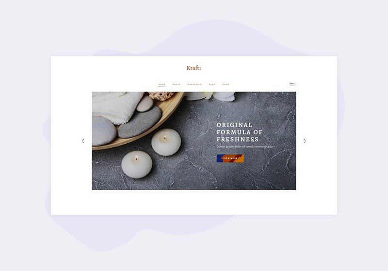 Versatile Candle Shop WordPress Themes
