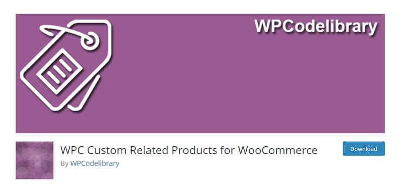 WPC Custom Related Products for WooCommerce