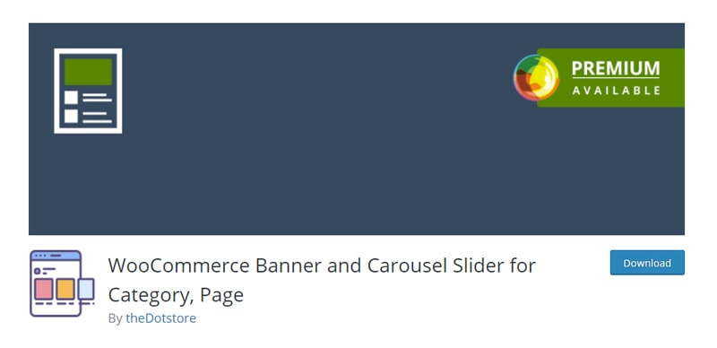 WooCommerce Banner and Carousel Slider