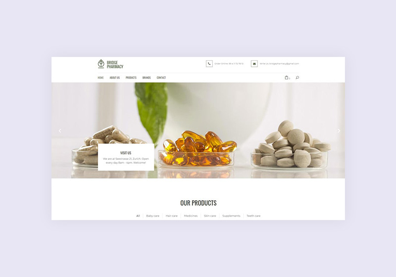 Best Pharmacy WordPress Themes