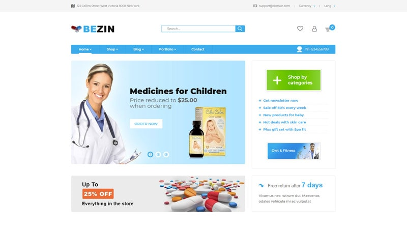Bezin WordPress Themes