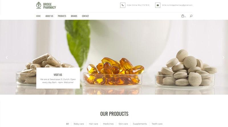 Bridge Pharmacy WordPress Themes