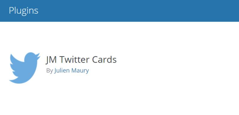 JM Twitter Cards