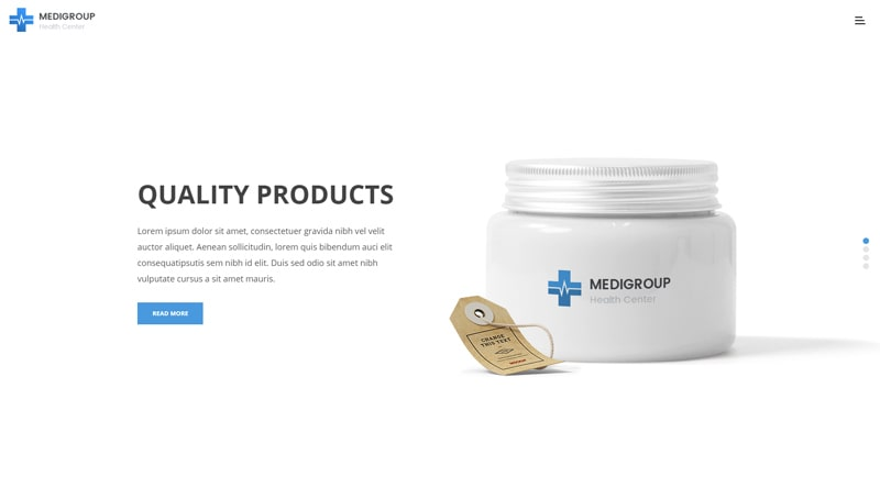 Medigroup Pharmacy WordPress Themes