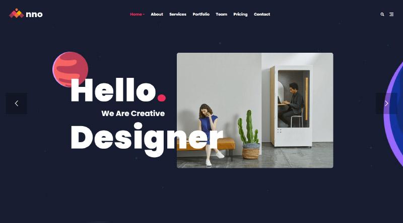 Anno one page WordPress theme