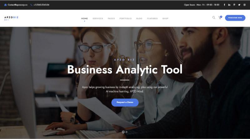 Apzo WordPress Theme