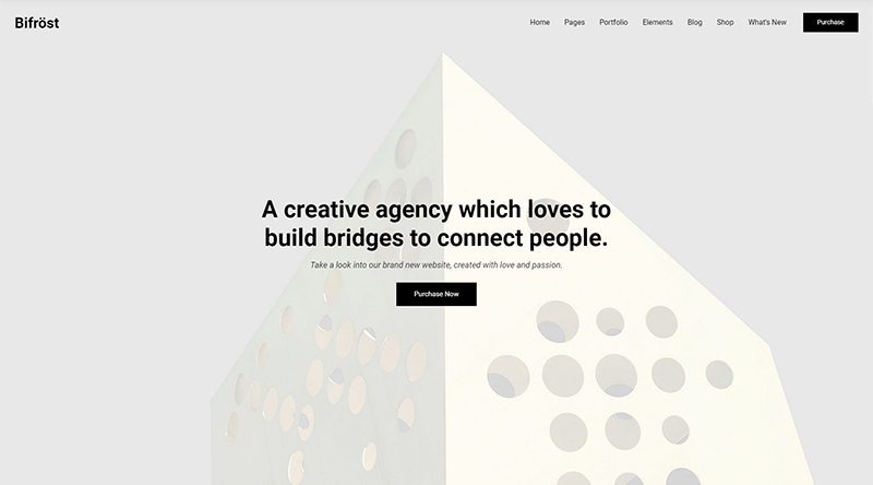 Bifrost WordPress theme