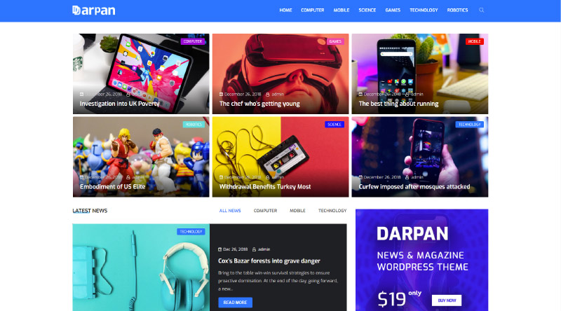 Darpan WordPress Theme