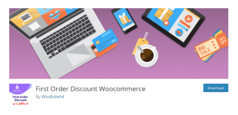 First Order Discount WooCommerce