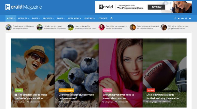 Herald WordPress Theme