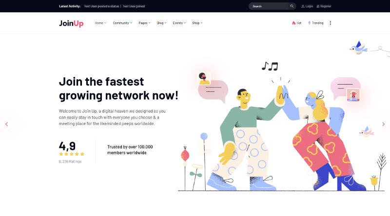 Join Up WordPress Theme