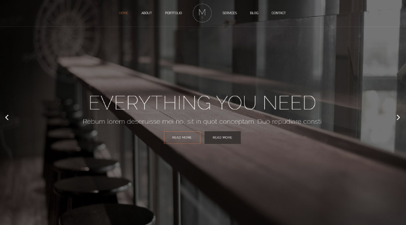 Mikado WordPress Theme