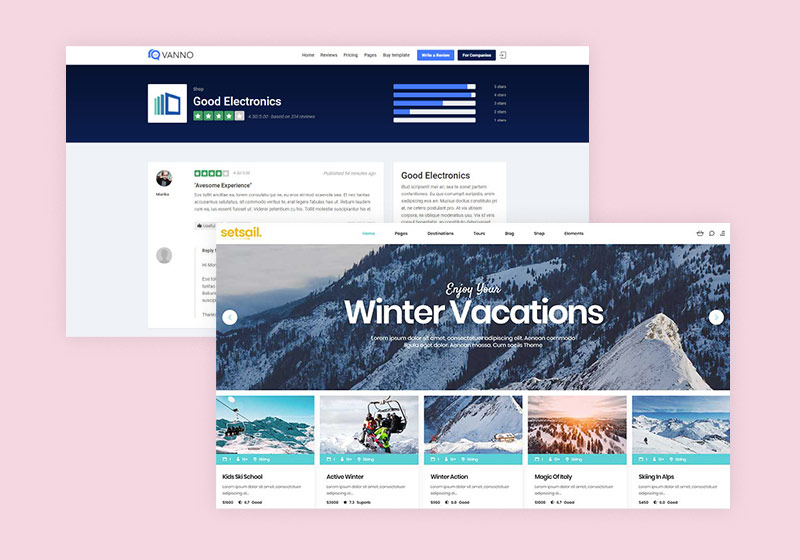 Review WordPress Themes for Any Business