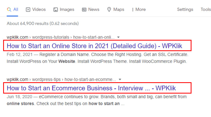 SEO for Title Tags