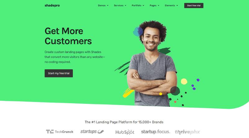 ShadePro WordPress Theme