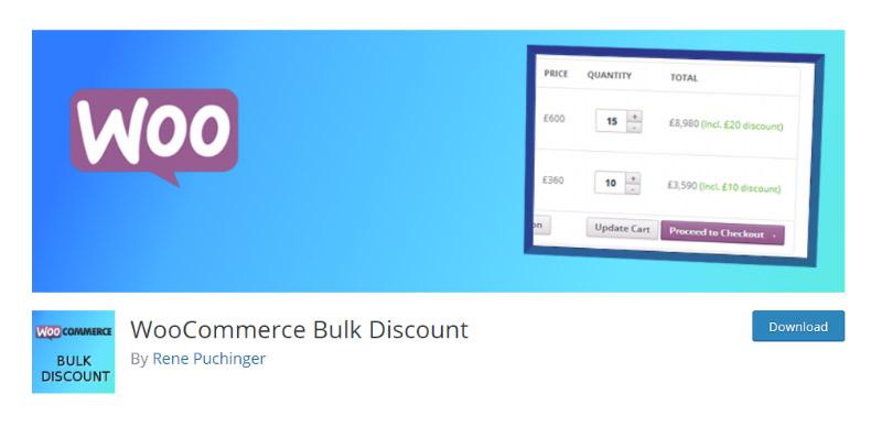 WooCommerce Bulk Discount