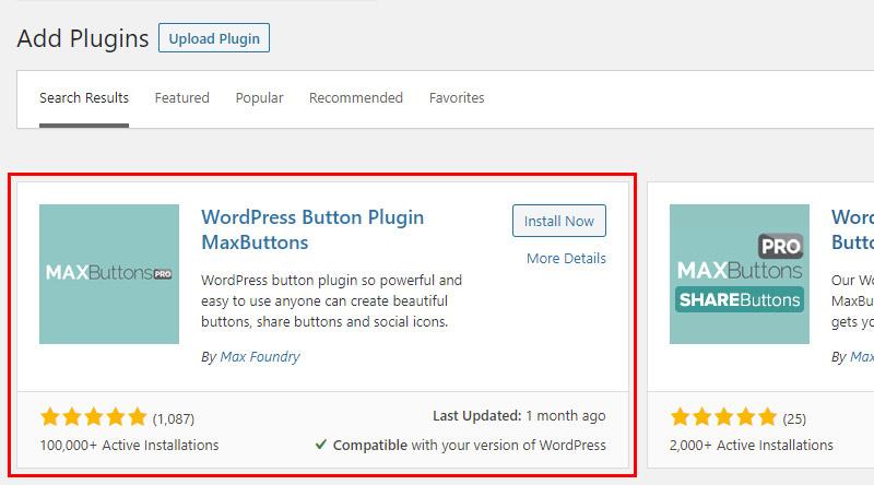 Maxbutton plugin