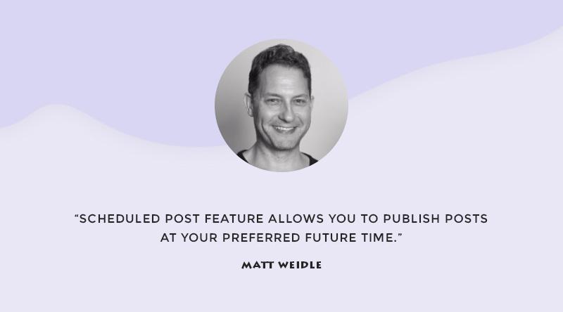 Matt Weidle