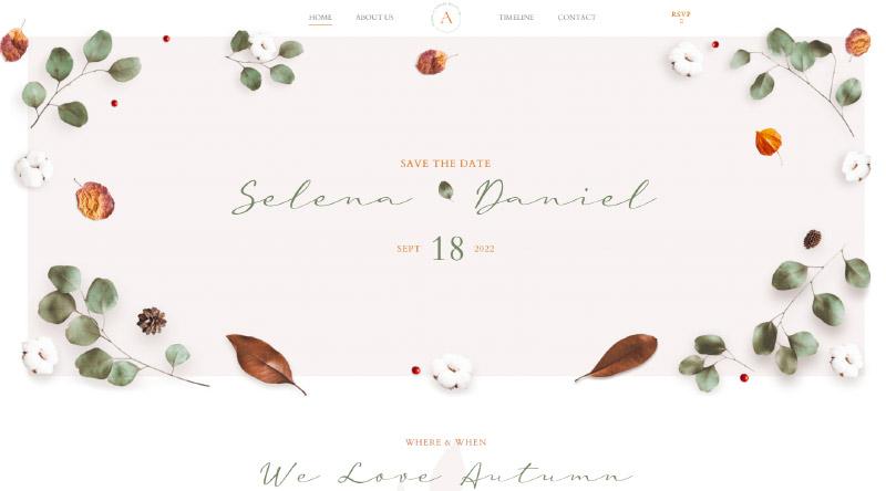 Avala Wedding WordPress Theme