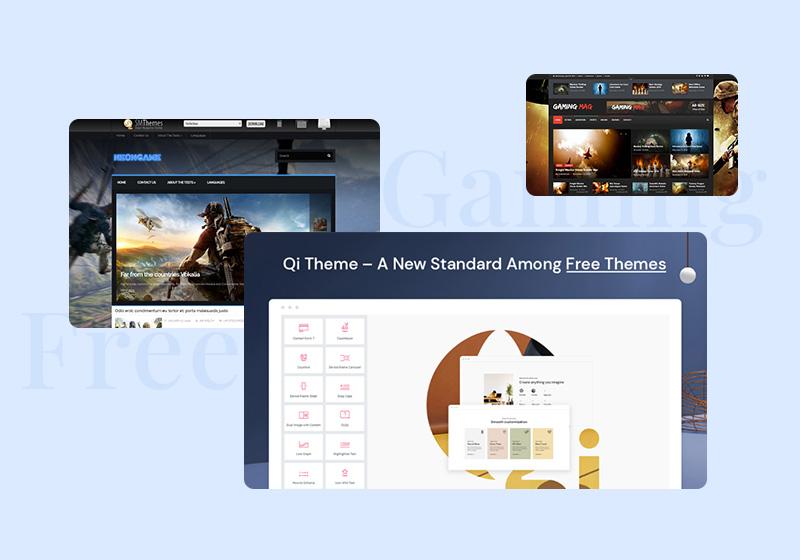 Awesome & Free WordPress Gaming Themes