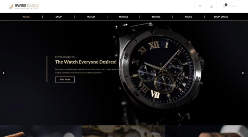SwissEagle WordPress theme