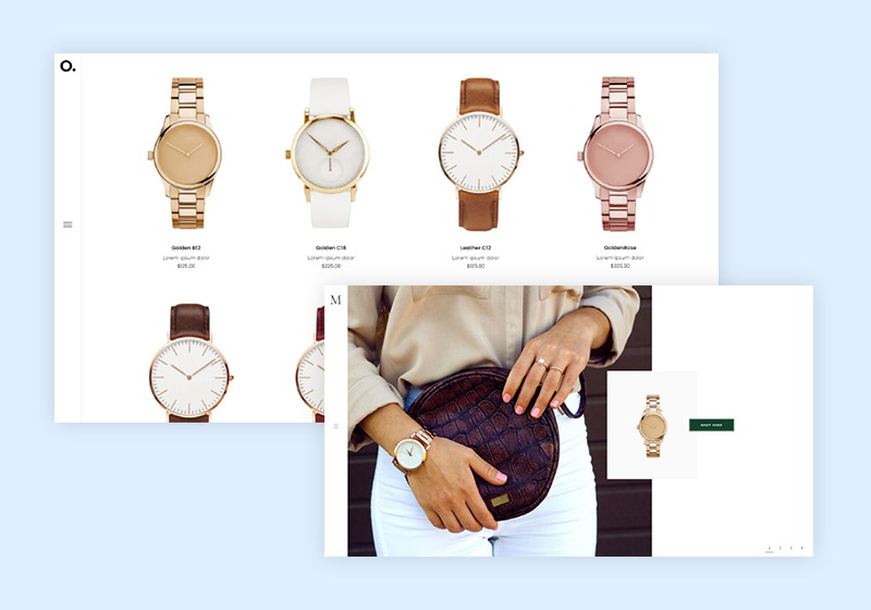 Timeless Watch Store WordPress Themes