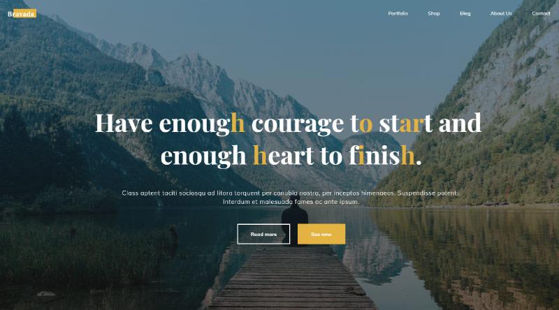 Bravada WordPress Theme