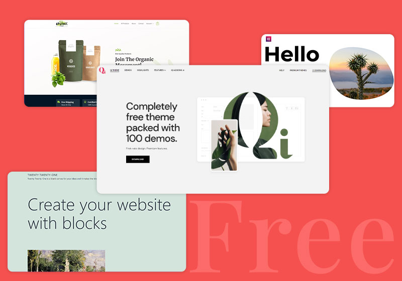 Free WordPress Themes for Different Businesses