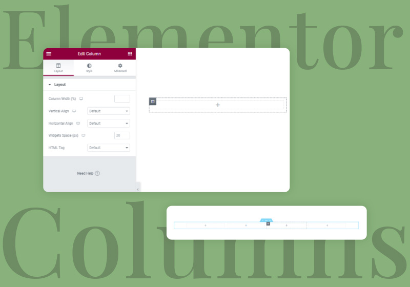 How to Add, Edit, and Customize Elementor Columns