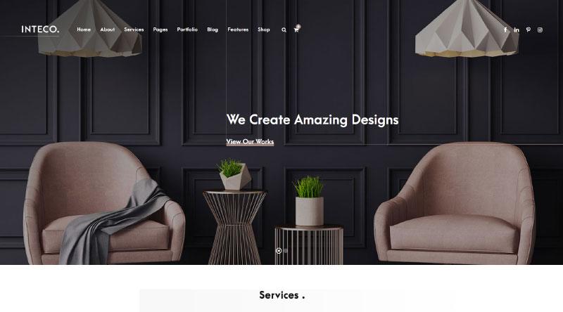 Inteco WordPress Theme