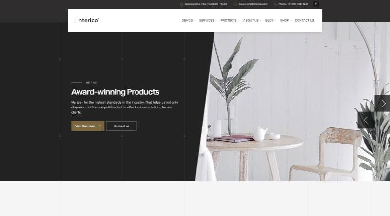 Interico WordPress Theme