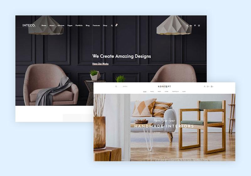 5+ Interior Design WordPress Themes for Stylish Impression 1