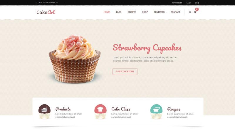 Levain WordPress Theme
