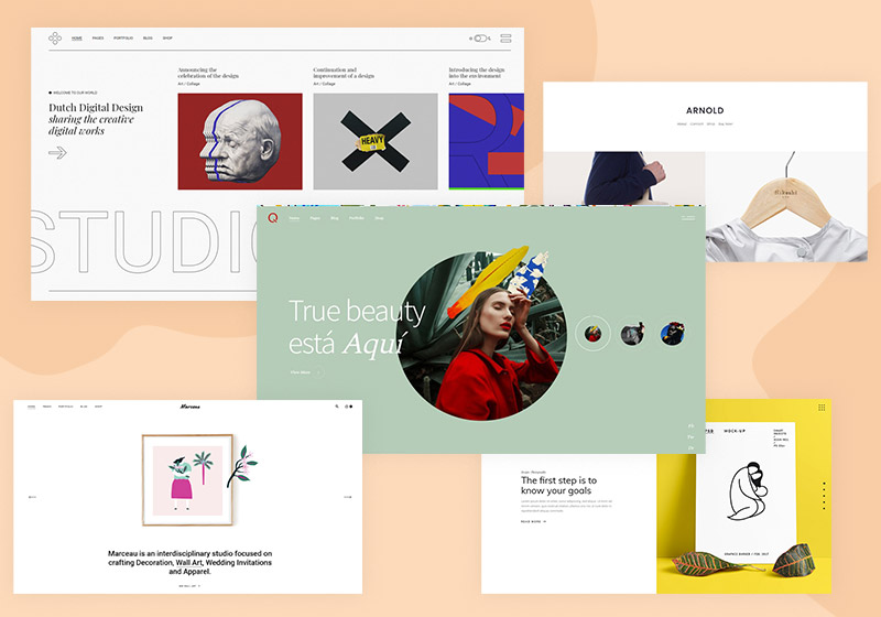 Portfolio Website Templates & HTML templates for Creatives