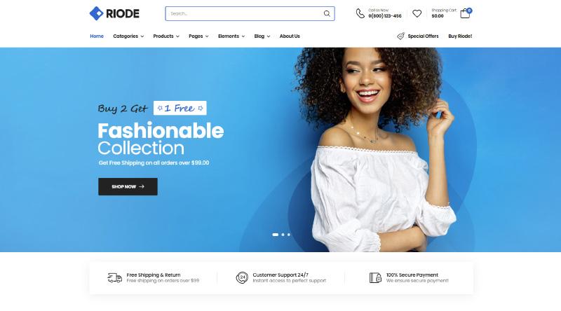 Riode WordPress Theme