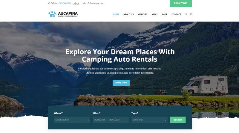Aucapina WordPress Theme
