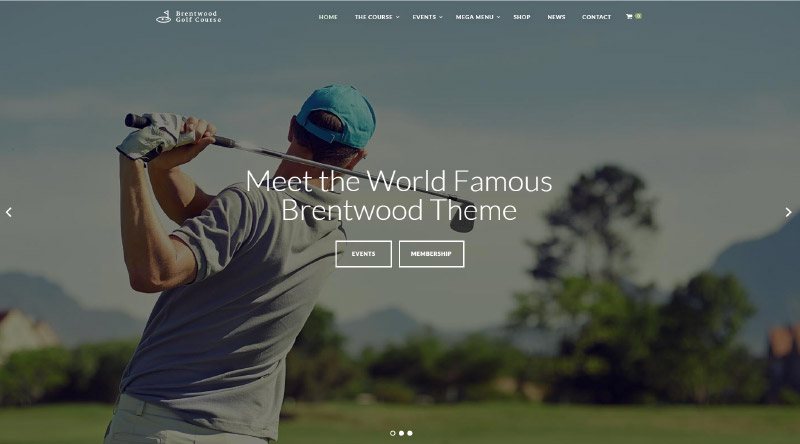 Brentwood WP Theme