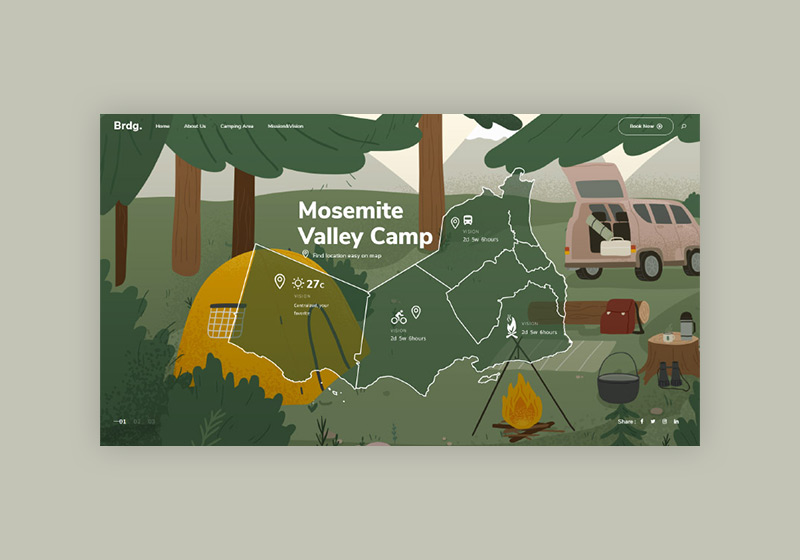 Best Camping WordPress Themes for New Adventure