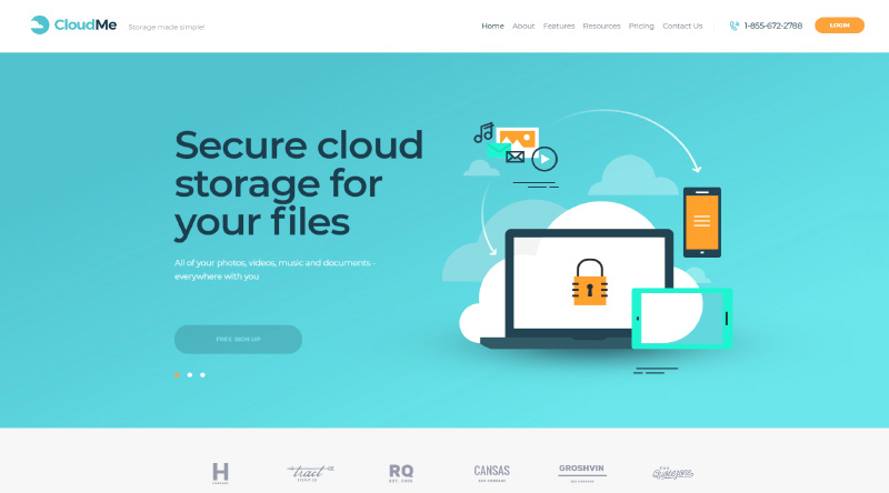 CloudMe WordPress Theme