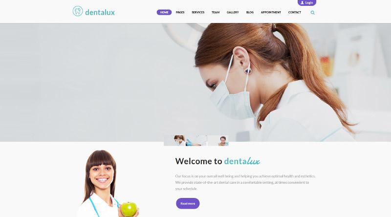 Dentalux WordPress Theme