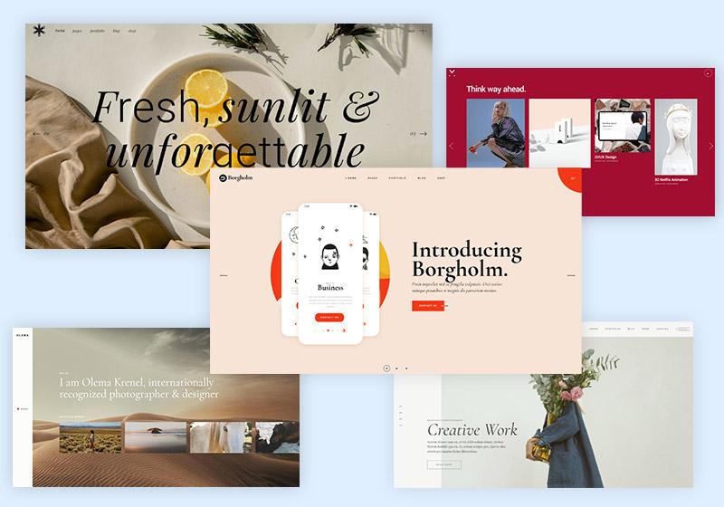 Top Elementor Portfolio WordPress Themes for Creatives