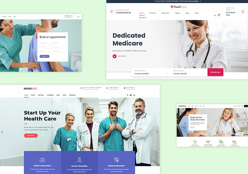 Most Trust Inspiring Healthcare WordPress Themes
