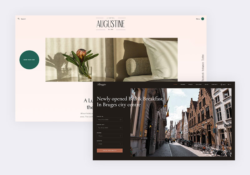 Most User-Friendly Bed and Breakfast WordPress Themes