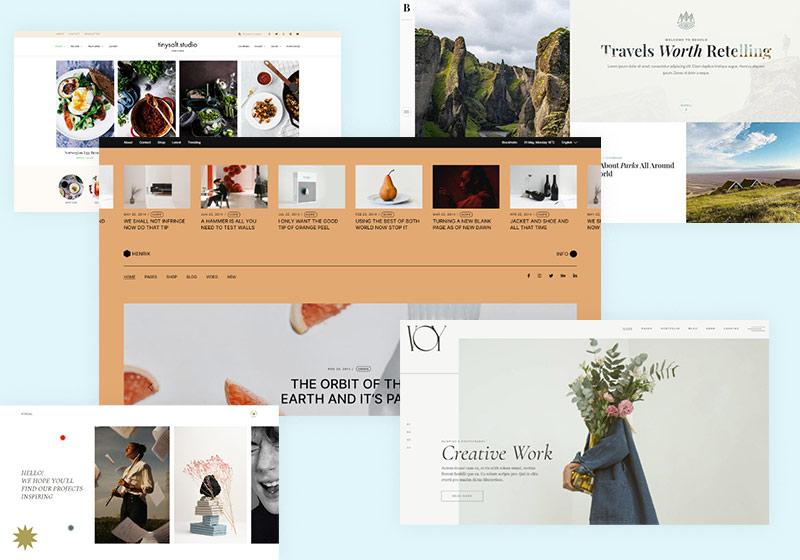 10 Must-Have WordPress Photo Blogging Themes 1
