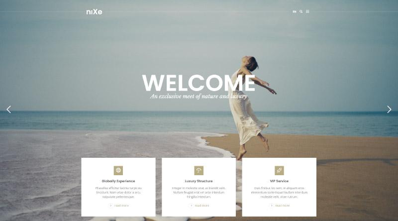 Nixe WordPress Theme