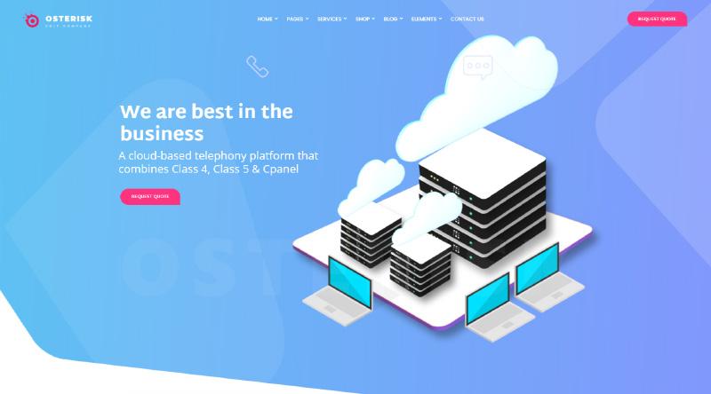 Osterisk WordPress Theme