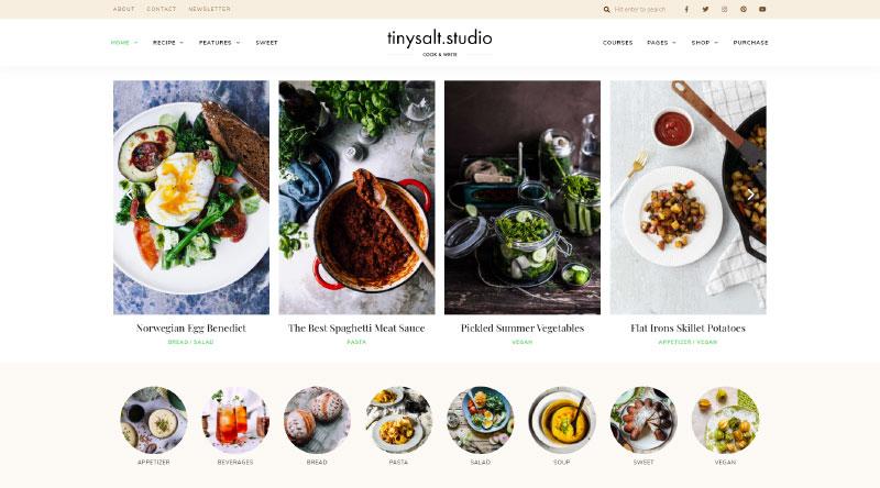 TinySalt WordPress Theme