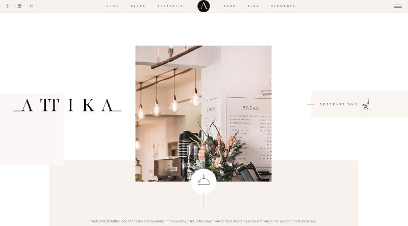 Attika WordPress Theme