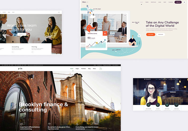 10 Best WordPress Consulting Themes for Real Professionals 1